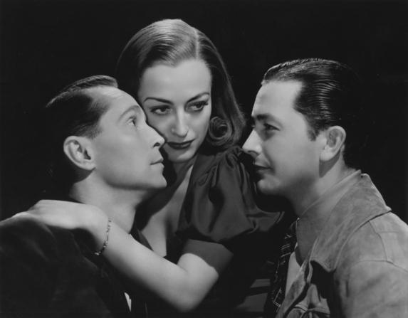 Franchot Tone, Joan Crawford, Robert Young