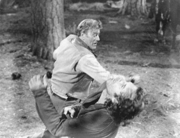 John Wayne, Bruce Dern