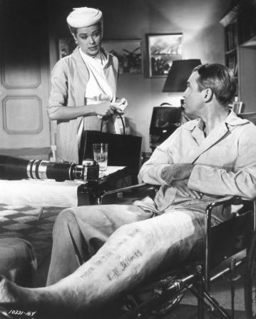 Grace Kelly, James Stewart