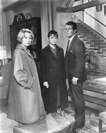 Shirley MacLaine, Audrey Hepburn, James Garner