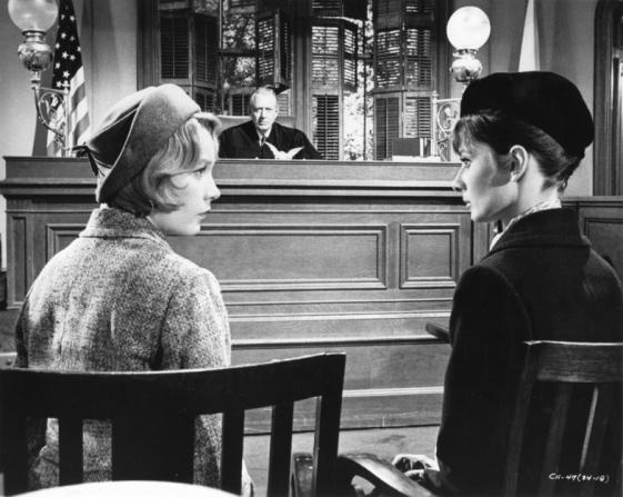 Shirley MacLaine, Audrey Hepburn