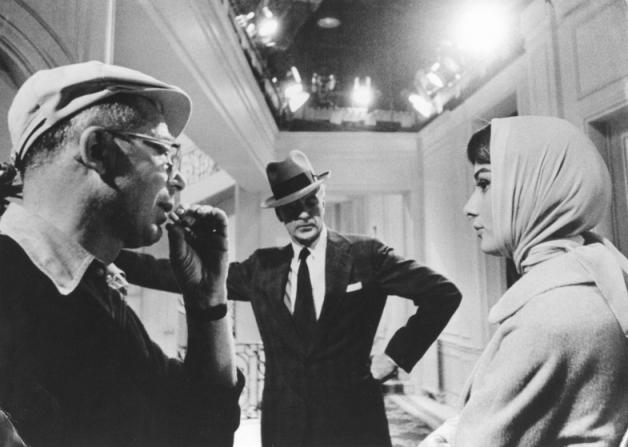 Billy Wilder, Gary Cooper, Audrey Hepburn