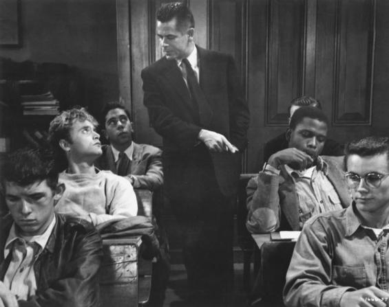 Glenn Ford, Sidney Poitier