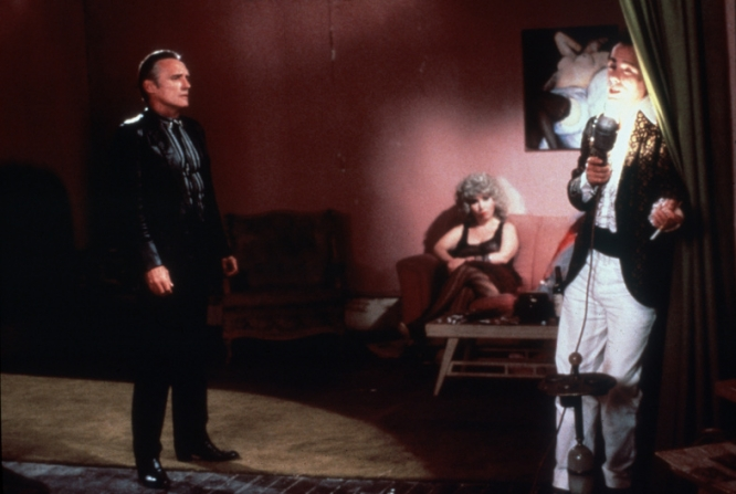 Dennis Hopper, Isabella Rossellini, Dean Stockwell