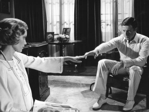 Mia Farrow, Robert Redford
