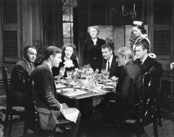 Orson Welles, Edward G. Robinson, Loretta Young