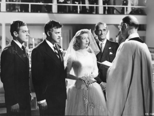 Loretta Young, Orson Welles, Philip Merivale, Byron Keith