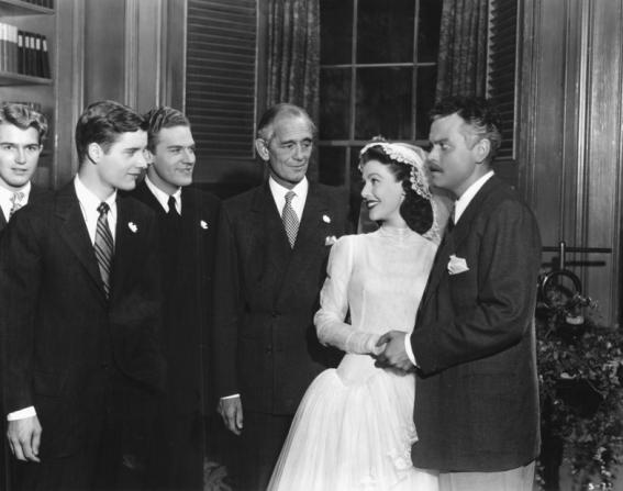 Loretta Young, Orson Welles, Richard Long, Byron Keith, Philip Merivale