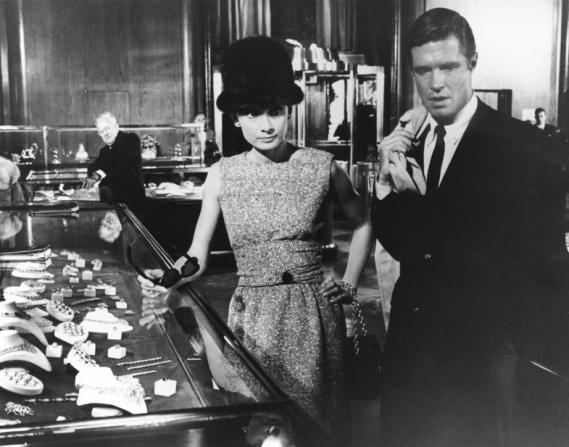 Audrey Hepburn, George Peppard