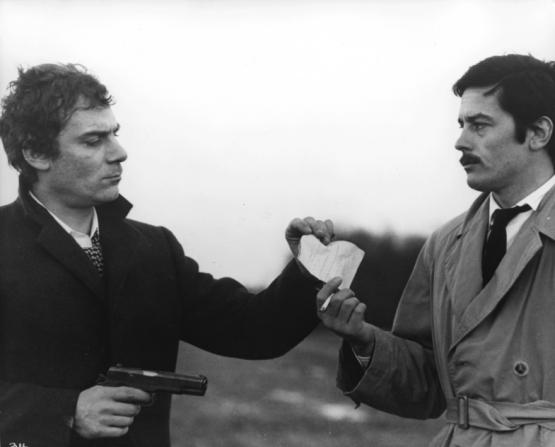 Gian Maria Volonté, Alain Delon