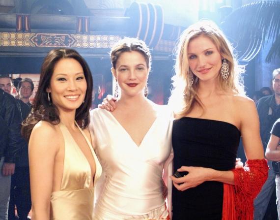 Lucy Liu, Cameron Diaz, Drew Barrymore
