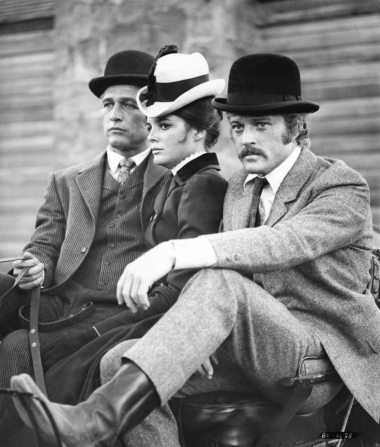 Paul Newman, Katharine Ross, Robert Redford