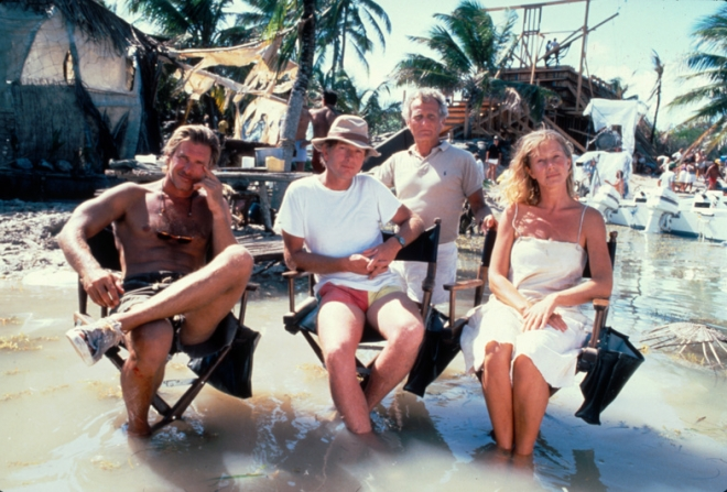 Peter Weir, Harrison Ford, Helen Mirren, Jerome Hellman