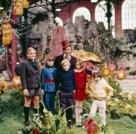 Michael Bollner, Denise Nickerson, Gene Wilder, Peter Ostrum, Julie Dawn Cole, Paris Themmen