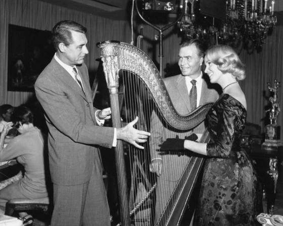 Eva Marie Saint, Cary Grant, James Mason