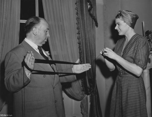 Alfred Hitchcock, Ingrid Bergman