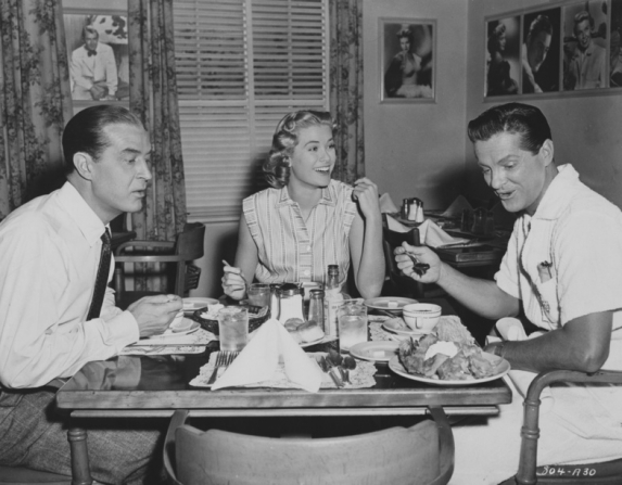 Ray Milland, Grace Kelly, Robert Cummings