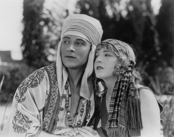 Rudolph Valentino, Vilma Banky