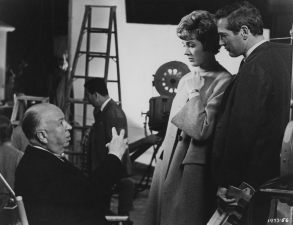 Alfred Hitchcock, Julie Andrews, Paul Newman