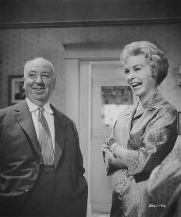 Janet Leigh, Alfred Hitchcock