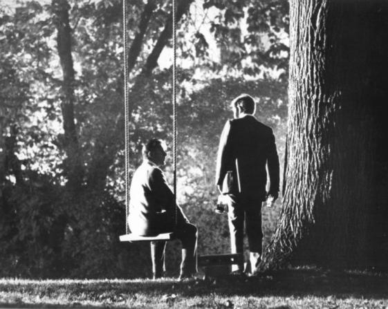 Richard Burton, George Segal