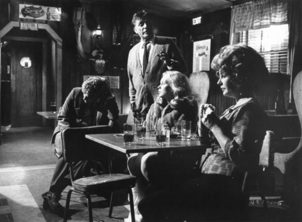 George Segal, Richard Burton, Sandy Dennis, Elizabeth Taylor