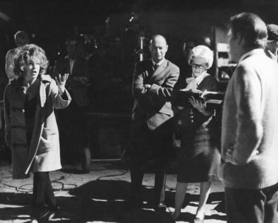 Elizabeth Taylor, Ernest Lehman, Richard Burton