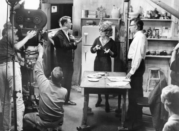 Mike Nichols, Elizabeth Taylor, Richard Burton