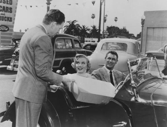 Marilyn Monroe, Cary Grant