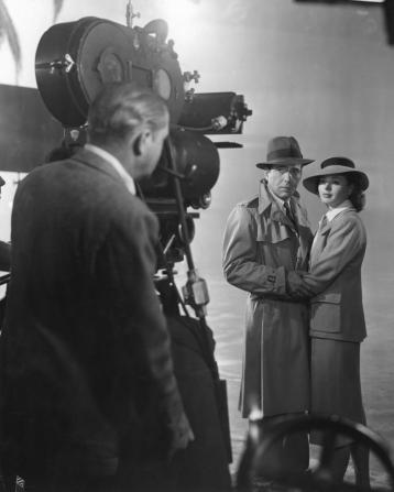 Ingrid Bergman, Humphrey Bogart, Arthur Edeson