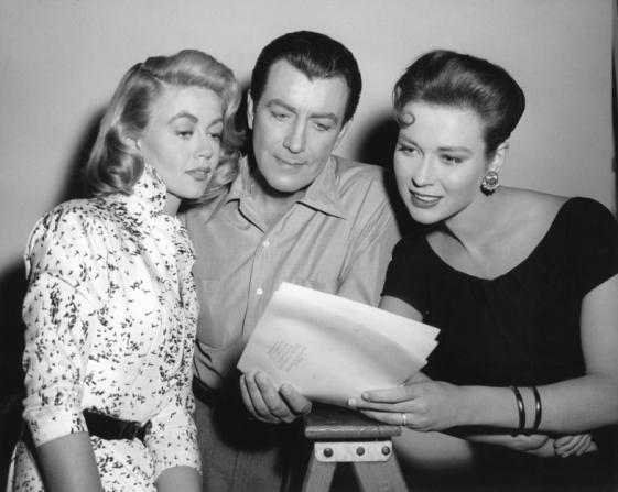 Robert Taylor, Dorothy Malone, Gia Scala