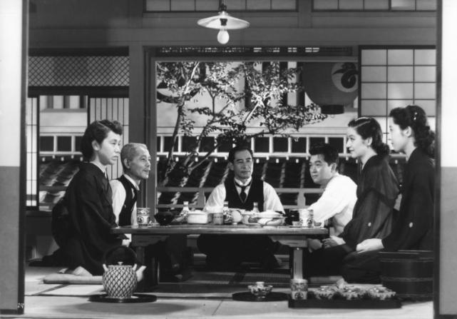 Haruko Sugimura, Chishu Ryu, Sô Yamamura, Shirô Osaki, Setsuko Hara, Kyôko Kagawa