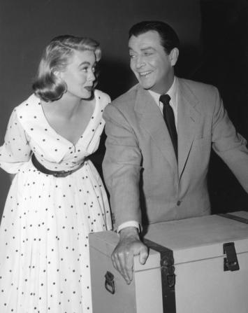 Robert Taylor, Dorothy Malone