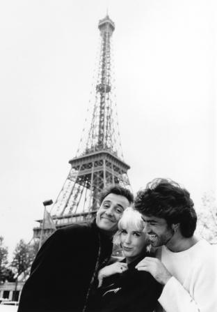 Paula Yates, George Michael, Andrew Ridgeley