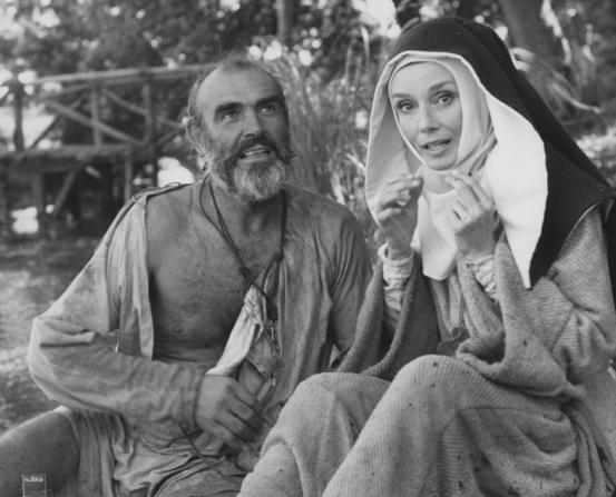 Audrey Hepburn, Sean Connery