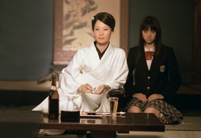 Lucy Liu, Chiaki Kuriyama