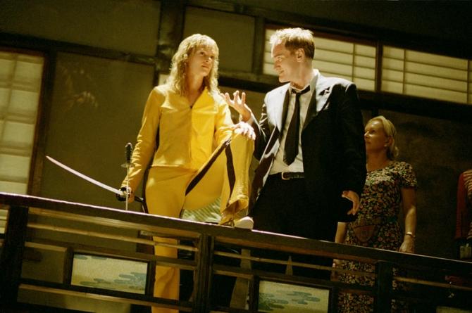 Uma Thurman, Quentin Tarantino