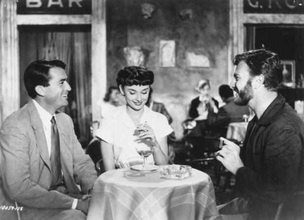 Gregory Peck, Audrey Hepburn, Eddie Albert