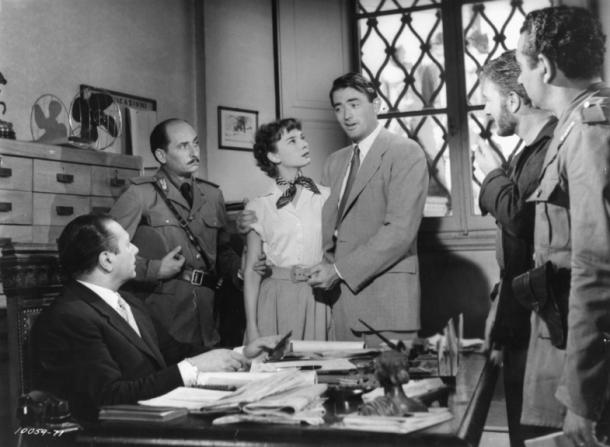 Audrey Hepburn, Gregory Peck, Eddie Albert
