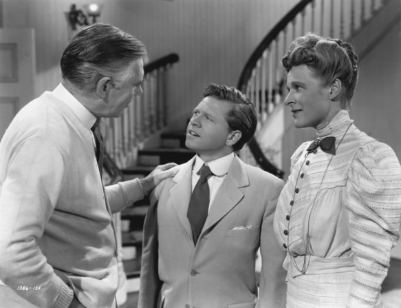 Selena Royle, Walter Huston, Mickey Rooney