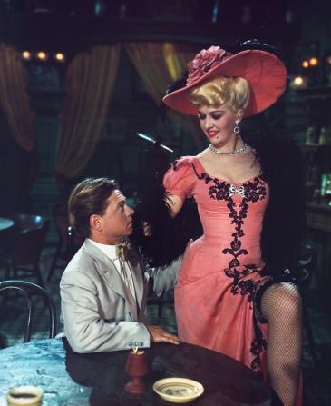 Mickey Rooney, Marilyn Maxwell