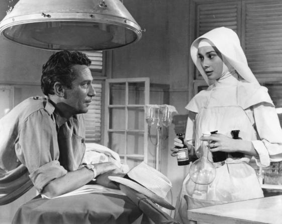Peter Finch, Audrey Hepburn