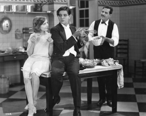 Mabel Poulton, Ivor Novello, Tony De Lungo
