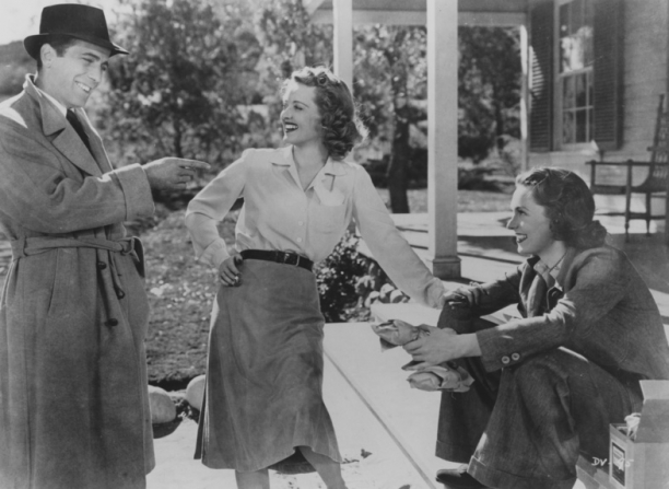 Humphrey Bogart, Bette Davis, Geraldine Fitzgerald