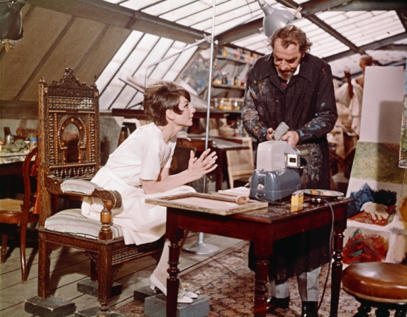 Hugh Griffith, Audrey Hepburn