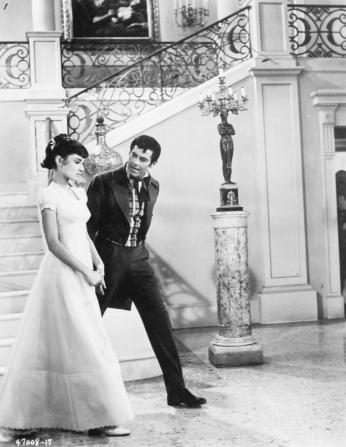 Henry Fonda, Audrey Hepburn
