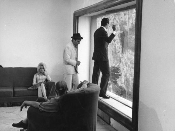 Brigitte Bardot, Michel Piccoli, Jack Palance