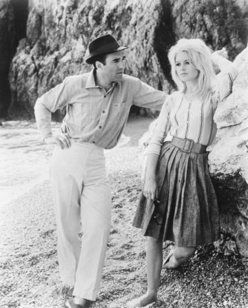 Michel Piccoli, Brigitte Bardot