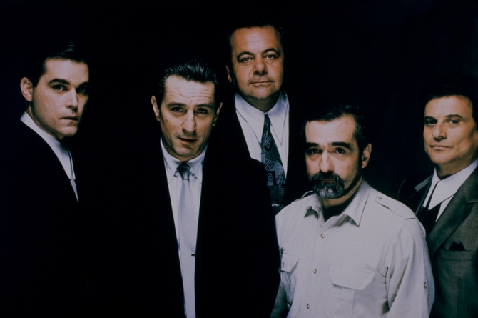 Ray Liotta, Robert De Niro, Paul Sorvino, Joe Pesci, Martin Scorsese