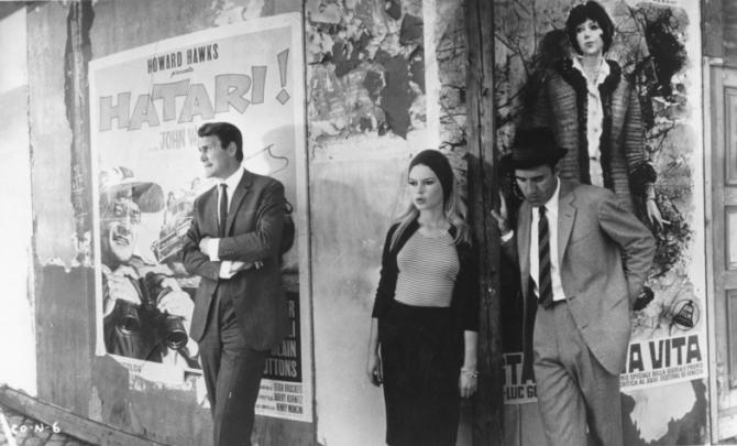 Jack Palance, Brigitte Bardot, Michel Piccoli